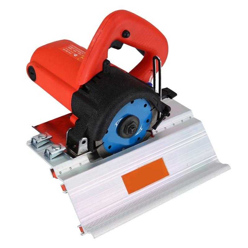 جديد متعدد الوظائف المحمولة آلة الشطب سيراميك القاطع المنزلية مصغرة دليل الغبار خالية الكهربائية آلة مصنوعة من الرخام