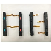original used l r repair parts for ns switch joycon right left plastic slider with button rail assembly