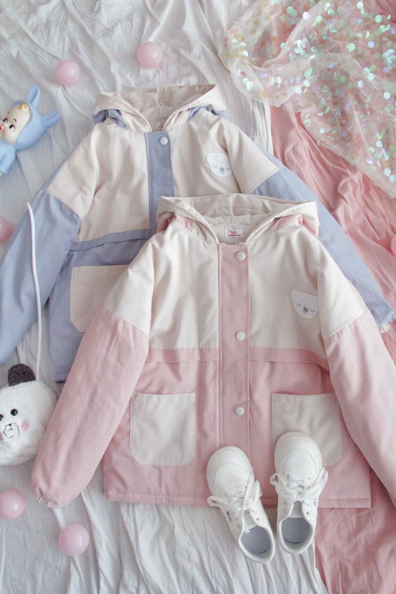 Cotton Clothes Women Winter Thicken Korean Preppy Loose Harajuku Soft Sister Hoodies Jacket Girl Overcoat Student Outer Tops
