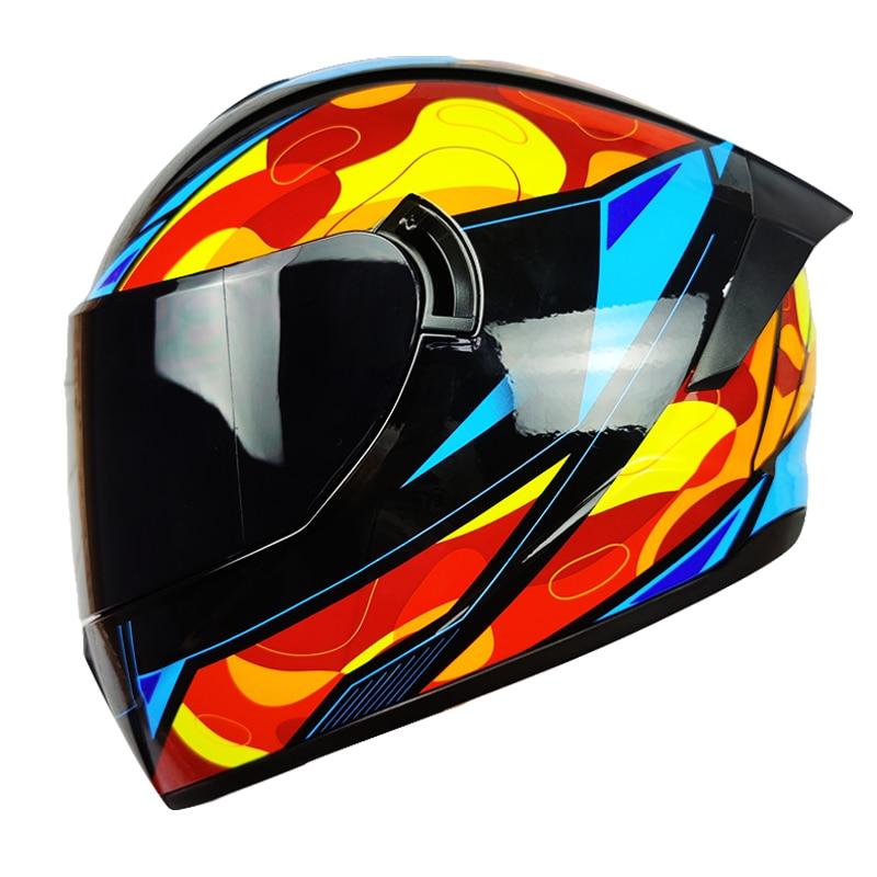 Casco Motocross Casco Moto Integral Para los adultos Moto Capacete párr Moto...