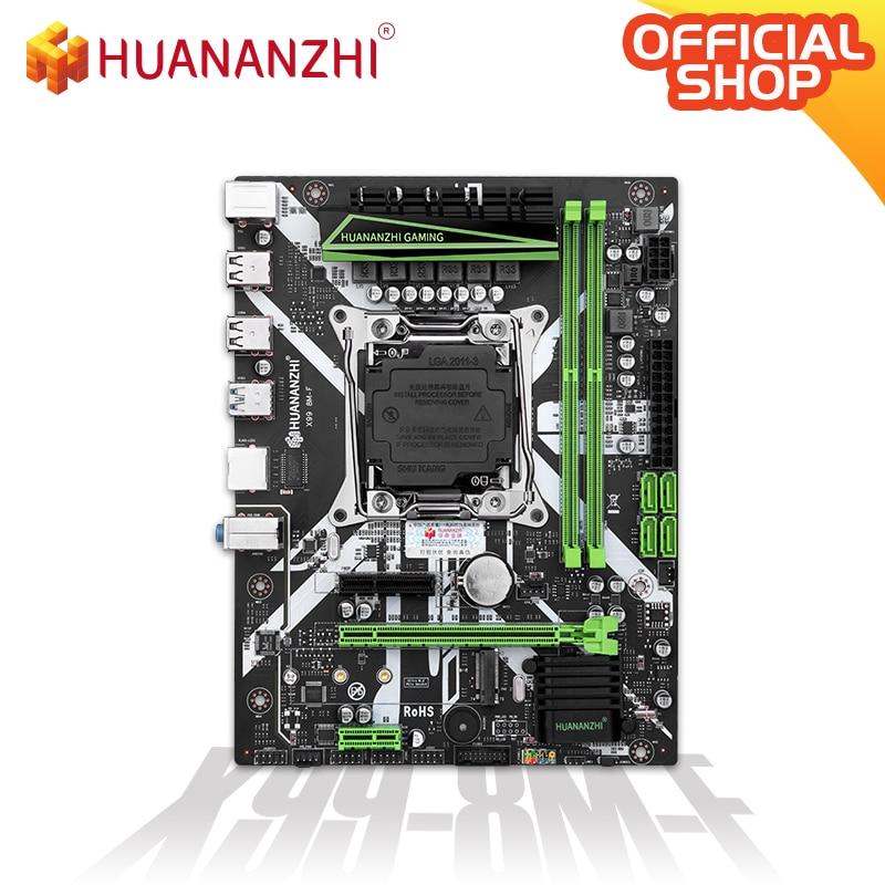 HUANANZHI X99 8M F X99 Motherboard Intel XEON E5 X99 LGA2011-3 All Series DDR4 RECC NON-ECC memory NVME USB3.0 SATA