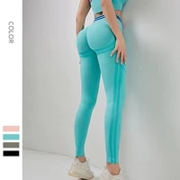 soft slim seamless legging yoga girl pants high waist fitness fashion sweatpants for workout athletic running bicycles trousers