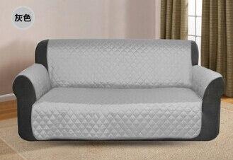 Impermeable cubierta de sofá poliéster Lino Anti-skid Dirtproof sofá cubierta de sofá moderno Protector de alfombrilla cojín para mascota