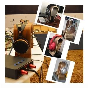 Image 4 - Универсальный U Форма деревянная подставка для наушников держатель наушников Вешалка деревянный гарнитуры стол Дисплей полка RackStand кронштейн