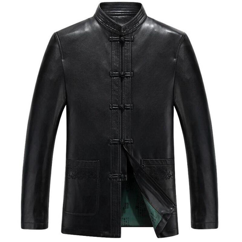 الصينية رجالي جلد الغنم معاطف السترة رجالي العلامة التجارية ملابس غير رسمية جلد الغزال رجالي بو معطف الشتاء 2020 C305