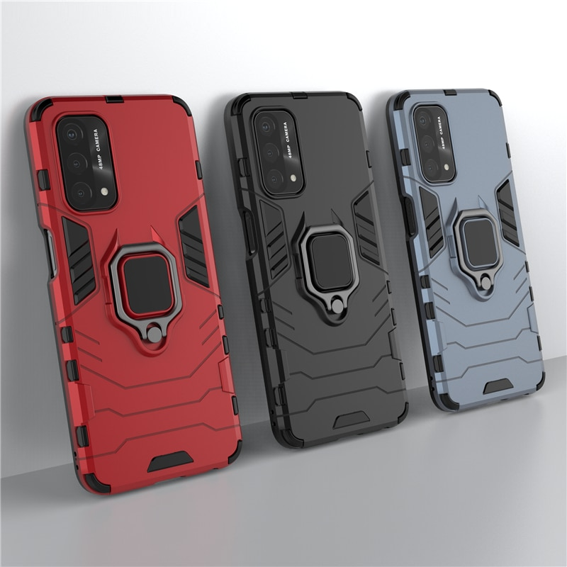 For Oneplus Nord N200 5G Case Cover for Oneplus Nord N200 5G Cover Armor Shell Capa Finger Ring Kick