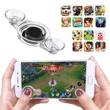 For Smartphone Tablet Games Transparent Joystick IOS Android Game Controller Mini Portable Button Wi