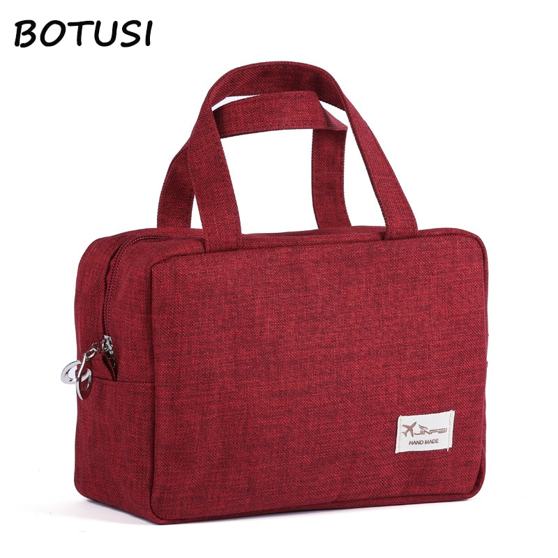 BOTUSI Travel Bags Cosmetic Bag Fashion Large Capacity Waterproof Packing Cubes Hand Luggage Packing Cubes Organizer Makeup Bag etya cute travel bags cosmetic bag multifunction men and women pvc luggage packing organizer large capacity clothes wash pouch