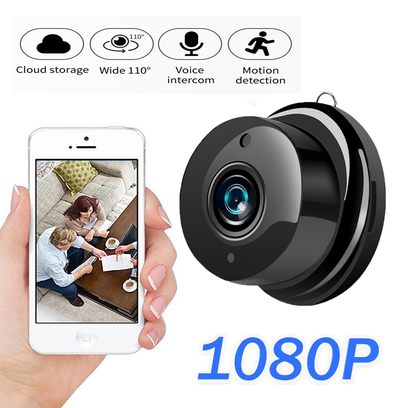 IP Camera 1080P Wireless Mini Cloud Infrared Storage Night Vision Smart Home Security Baby Monitor Motion Detection Wifi camera