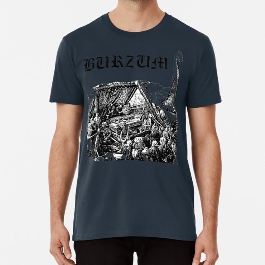 Preto burzum t camisa burzum bathory gorgoroth darkthrone preto metal dsbm norueguês preto metal varg