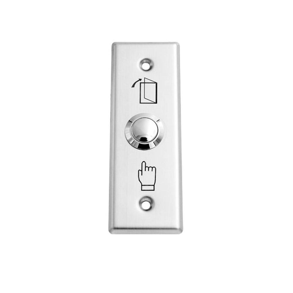 Кнопка выхода для контроля доступа к двери, материал из нержавеющей стали, Размеры: 91Lx28Wx20H (мм), мин.: 1 шт.