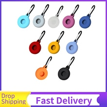 Anti-lost For Airtag Electronic Product Accessories For Apple Airtags Location Tracker Hanging Buckl