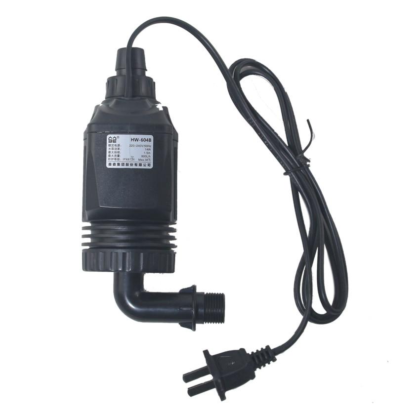 Filtro de acuario SUNSUN HW604B/EW604B bomba de agua de repuesto 14W también se puede utilizar para la retroinstalación HW602B/HW603B/LW602B/LW603B