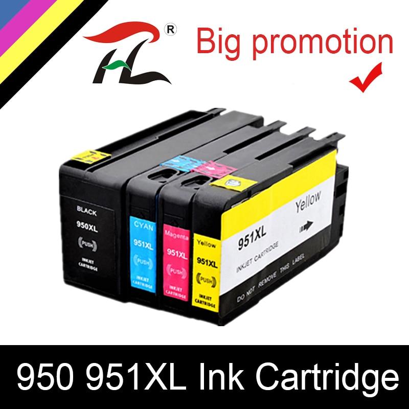 HTL para HP 950XL para 951XL para HP950 tinta cartucho 950 de 951 HP Officejet Pro 8600, 8610, 8615, 8620, 8630, 8625, 8660, 8680 impresora