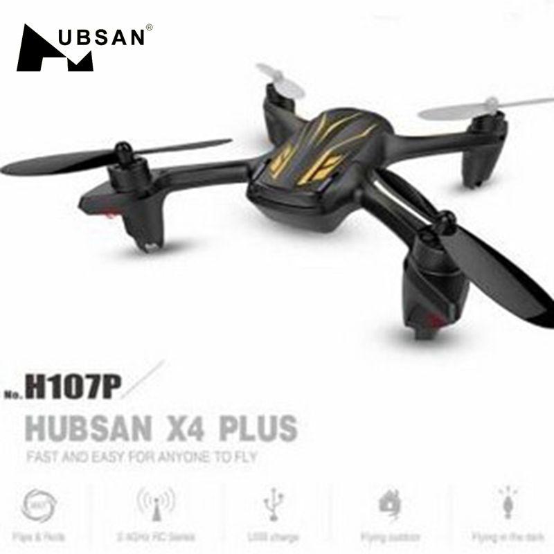 Gran oferta Hubsan X4 Plus H107P 2,4G 4CH RC Quadcopter con LED modelo 2 para RC juguetes presentes