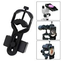 Adaptateur de smartphone universel pour telescope dobservation support pour lunettes binoculaires  monoculaires  en plastique