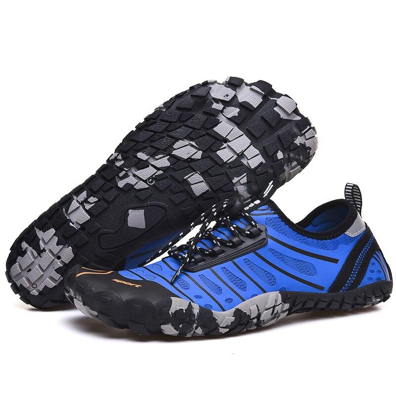Zapatos de agua para hombre zapatos de agua transpirables de verano goma aguas arriba sandalias playa Mujer calcetines de baño Tenis Masculino