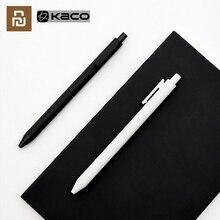 Youpin KACOGREEN роликовая ручка для подписи гелевые чернила гладкие чернила для письма долговечные чернила для подписи 1 шт. розничная продажа 0,5 мм/3 шт. KACO Refil