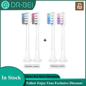 DR·BEI Electric Toothbrush Heads for DR.BEI C01 Sonic Electric Toothbrush Replaceable Sensitive / Cleaning Tooth Brush Heads