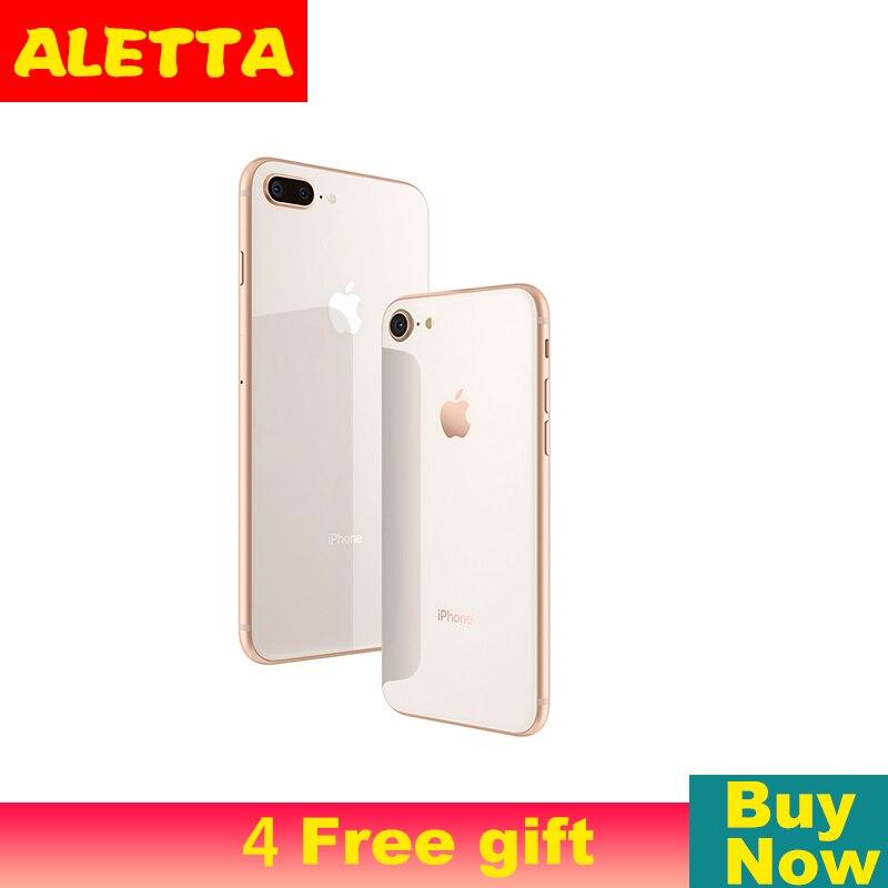Unlocked Apple iPhone 8 Plus 5.5inch Face ID NFC ROM 64GB/256GB Smartphone A11 Hexa-core Apple Pay