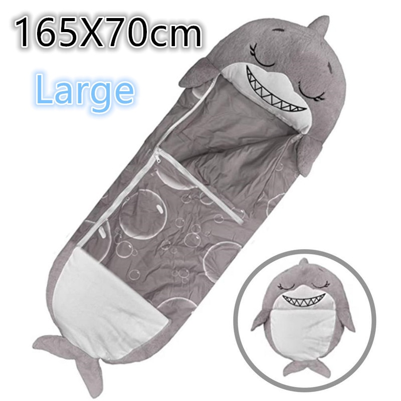 Large Size Sleeping Bag New Style Children Lazy Warm Baby Sleep Sack Sleeping Bag Blanket Pillow Dropshipping Boys Girls Gift
