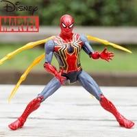 disney marvel superheroes avengers iron man spider man hulk anti hulk doll model hand made car ornaments