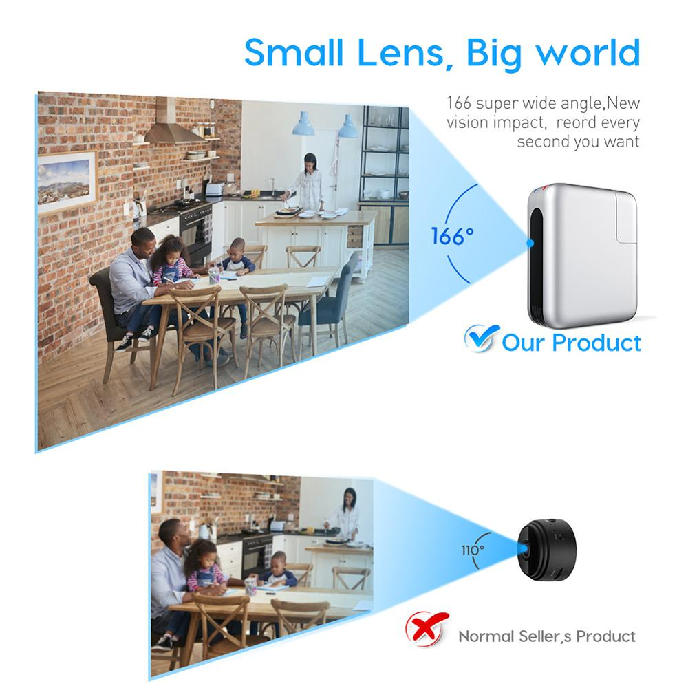Wireless Wifi Mini Camera espia USB Charger micro camera 4K 1080P Cam Baby Camera Nights Vision Monitor Camcorder for Smart Home enlarge