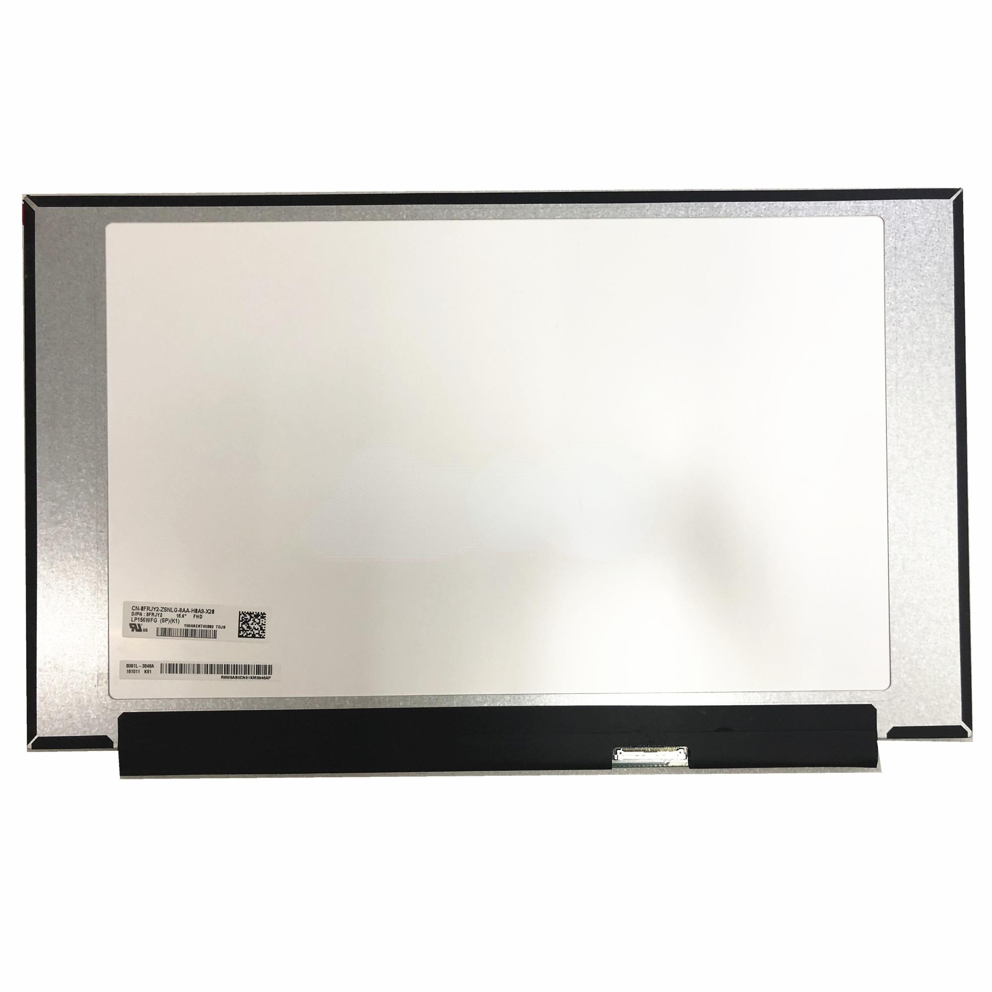 LP156WFG-SPK1 LP156WFG SPK1 صالح LP156WFG-SPB3 LP156WFG-SPF3 LP156WFG-SPF2 72% NTSC 144Hz FHD IPS LCD شاشة عرض