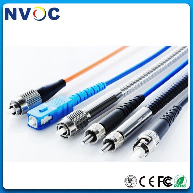 600um Silica Core SC/FC/ST/SMA905 MM Simplex UV Optimiert Quarts Optische Faser Gepanzerte Optic Patch schnur