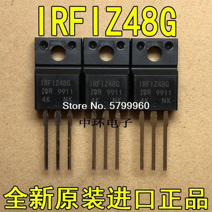 10 teile/los IRFIZ48G IR TO-220F 37A 60V transistor