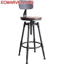 Tabouret De Bar Sgabello Bancos Moderne taburette Comptoir Industriel Ikayaa rétro Tabouret De Moderne Tabouret Moderne Silla chaise De Bar
