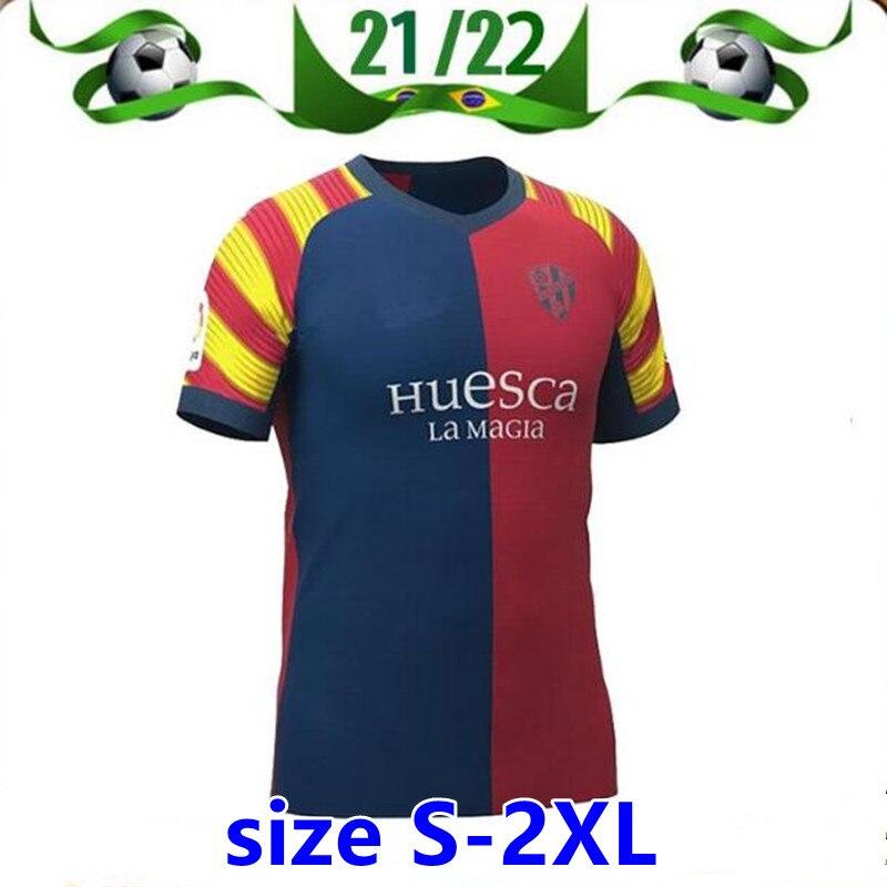 Camiseta de fútbol TOP21 22, Camiseta de local de Huesca, edición especial,...