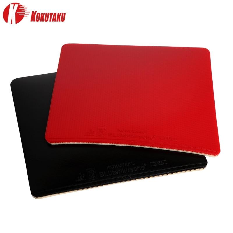KOKUTAKU 868 Table Tennis Racket  Pimples in Rubber Acne Pips In PingPong Rubber Sponge Red/Black