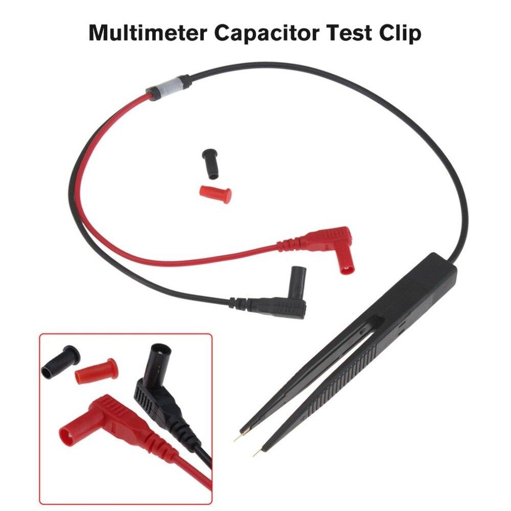 SMD SMT чип тест зажим провод зонд цифровой мультиметр измеритель пинцет конденсатор сопротивление пинцет для FLUKE для Vichy