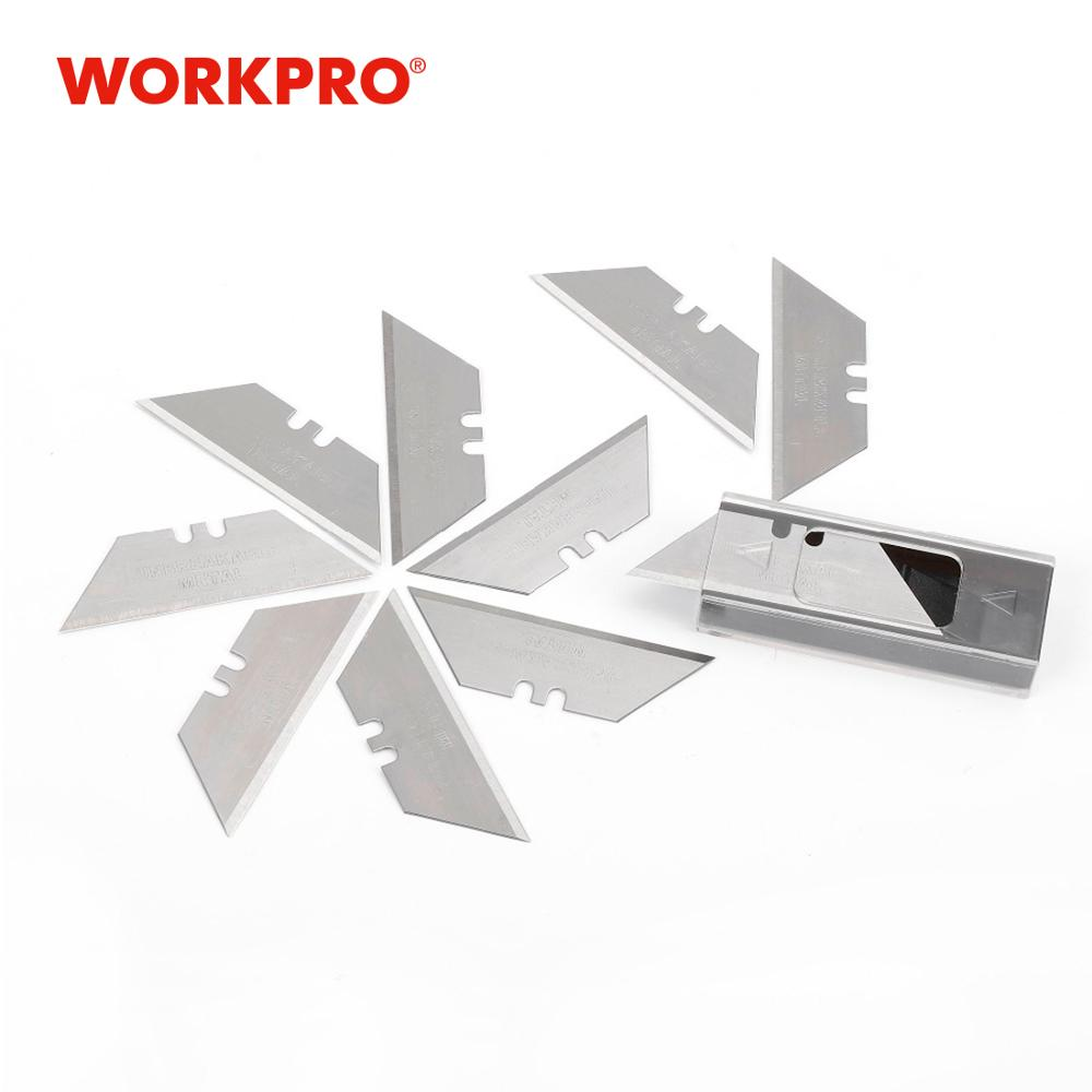 Workpro original sk5 lâminas para faca de serviço regular lâminas de faca utilitário 10 pçs/lote