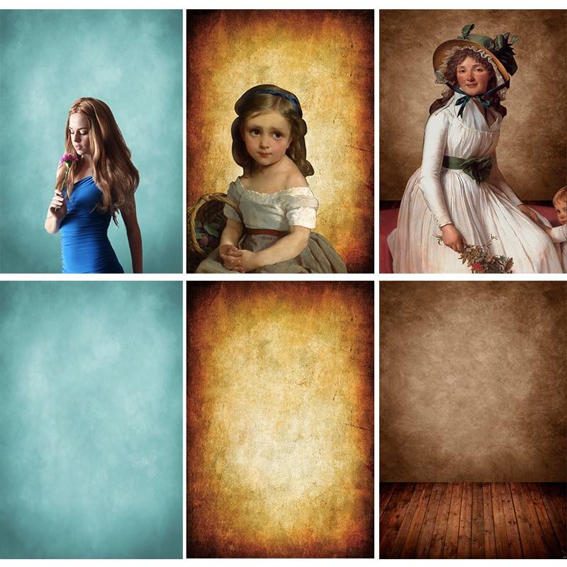 Винтажный градиентный однотонный фон для фотосъемки реквизит кирпичная стена деревянный пол детский портрет фото фоны 210125MB-53