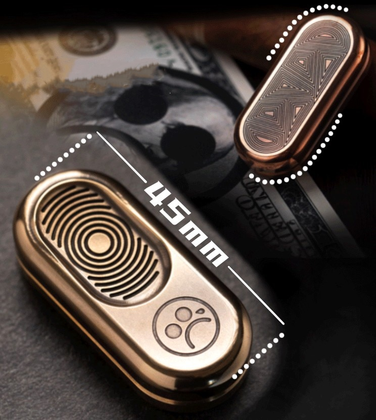 Metal Push Brand PPB Coin EDC Fidget Toys Anti-Stress Autism ADHD Hand Spinner Adult Stress Relief Toys Exquisite Gifts enlarge