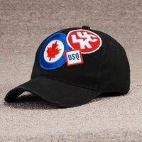 dsq brand baseball cap high quality mens and womens hats custom design dsq2 logo hat hats mens dad hats