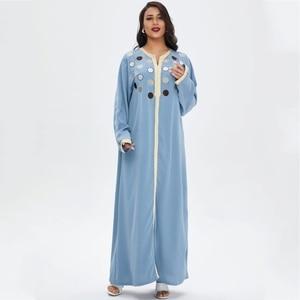 African Dresses For Women 2021 Spring Summer New Style Classic Dashiki Fashion Loose Long Maxi Dress Muslim Fashion Abaya