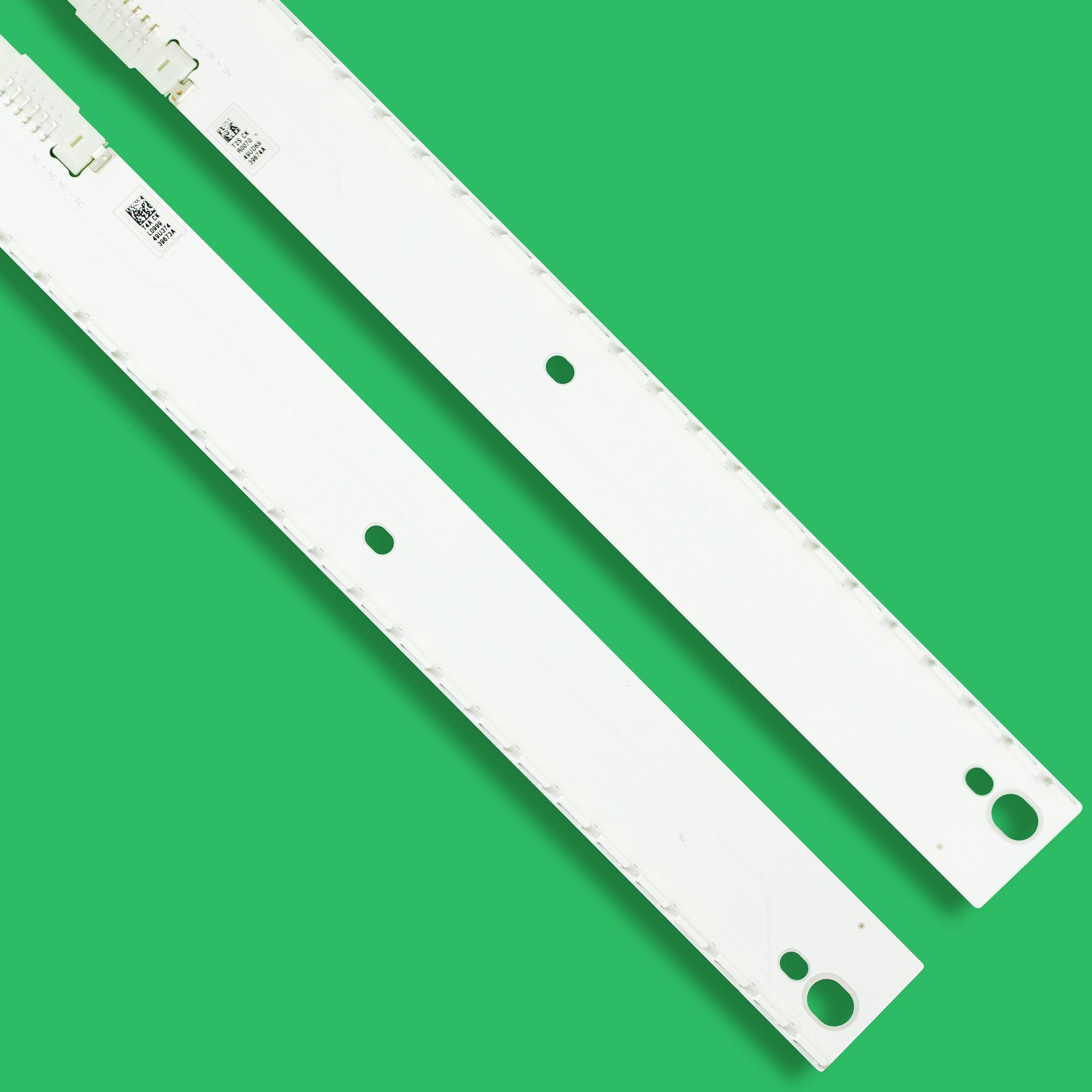 20set=40pcs LED backlight strip for Samsung UE49KU6500 UN49KU6400 UE49MU6500 BN96-39673A 39674A BN96-39671A 39672A 39882A 39880A enlarge