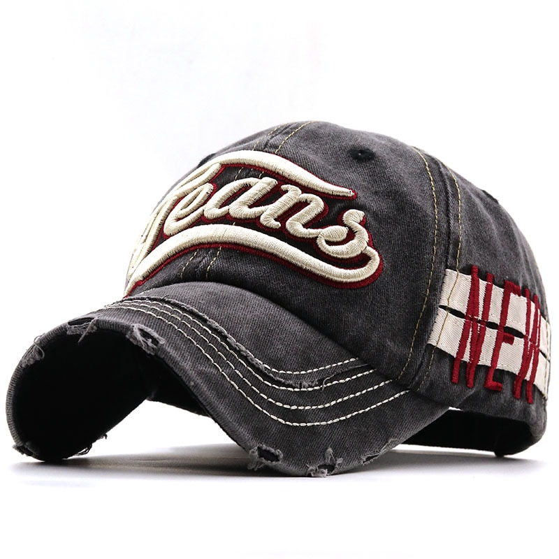 Простая весенне-летняя Бейсболка унисекс для мужчин, новая Кепка с буквами, повседневная хлопковая кепка в стиле ретро, уличная одежда, Снэп...