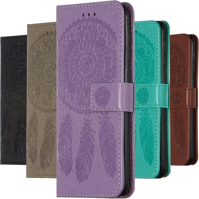 Simple Color Case For Samsung Galaxy A50 A51 A70 A71 S20 Ultra S10 E Plus A01 A10 A20 A21 A30 A40 Girl Card Holders Fundas P03E