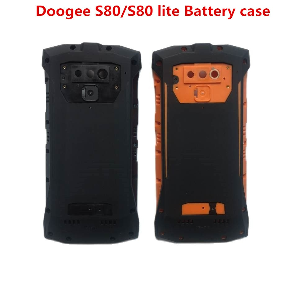 New Original Doogee S80 Battery Case Hard Bateria Protective Back Cover Replacement Accessories For S80/S80 lite Phone