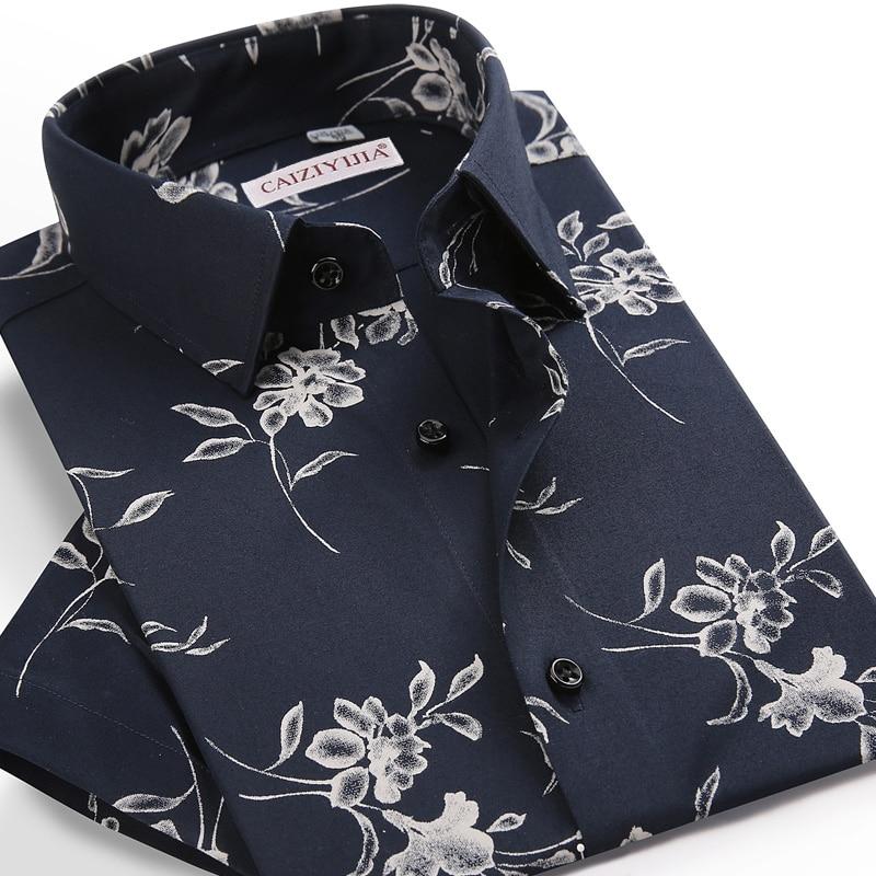 قميص هاواي صيفي للرجال بأكمام قصيرة ، طباعة زهور ، ألوان متباينة ، تصميم بدون جيوب ، غير رسمي ، ملابس بحر ، مقاس قياسي