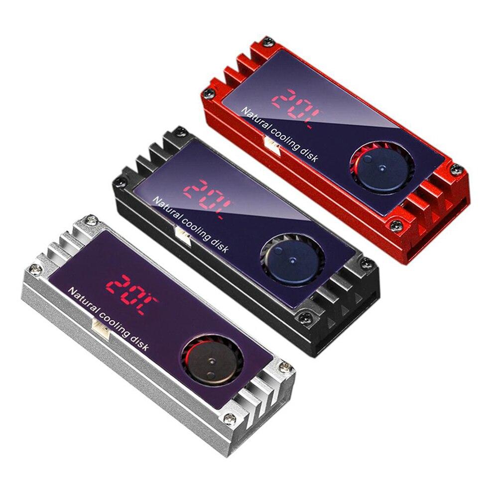 radiador m2 2280 nvme temperatura do resfriador e display digital radiador em estado
