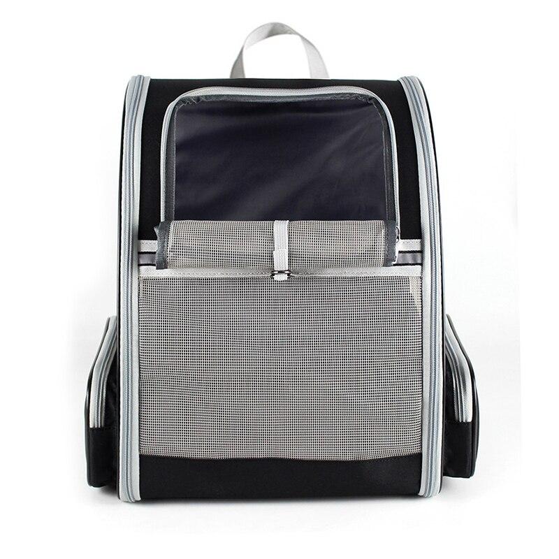 Bolsa portátil para mascotas, mochila de malla transpirable para perros, bolsa de transporte para gatos de gran capacidad, bolsa de viaje para mascotas al aire libre, nuevas bolsas plegables para perros