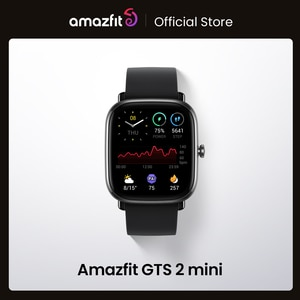 Global Version Amazfit GTS 2 Mini GPS Smartwatch AMOLED Display 70 Sports Modes Sleep Monitoring SmartWatch For Android For iOS
