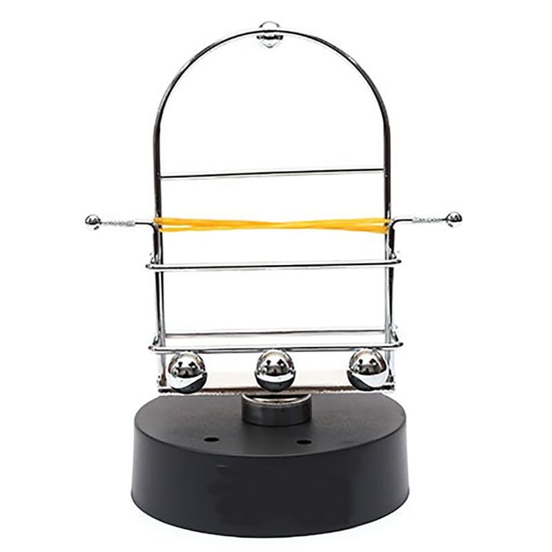 BESTAutomatic Walking Swing teléfono móvil artefacto podómetro cepillo paso a paso instrumento eterno SPINNER Rocker artesanía ornamentos