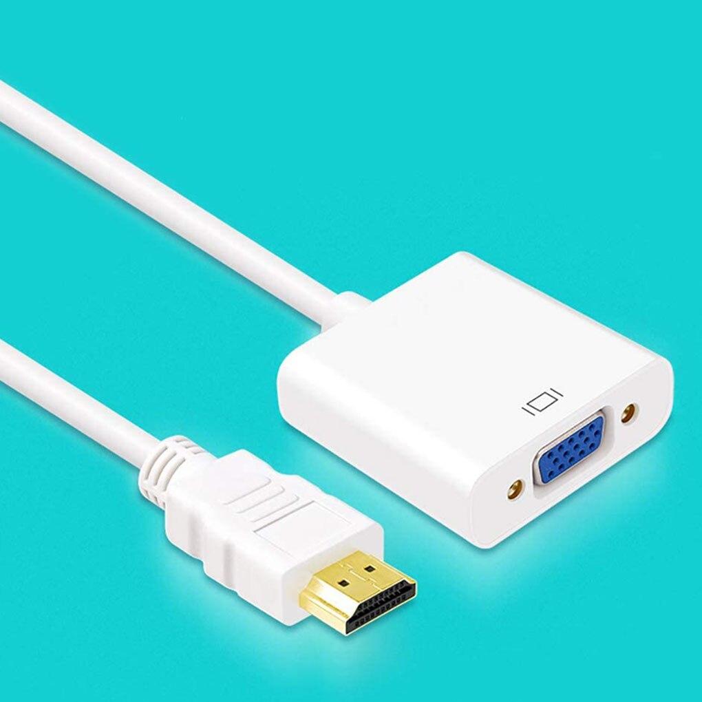 1080P HD VGA a VGA Adaptador convertidor de Digital a analógico Cable...