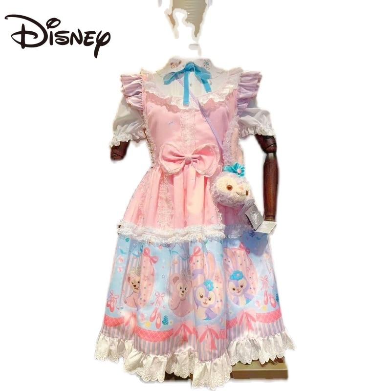 Disney Duffy Bear Shirley Merstar Delo Lolita Dress Lolita Women's Dress Knee-Length Cartoon Ball Gown Lolita Style